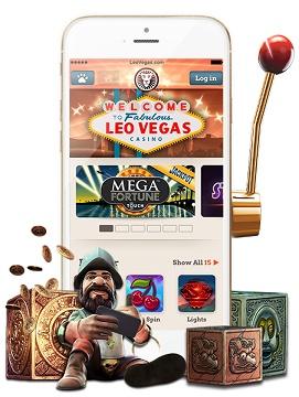 Mobile casino mit bonus Leo Vegas
