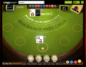 BlackJack Bonus Online