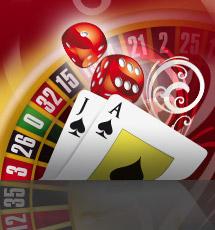 Casino Spiele Roulette und Black Jack