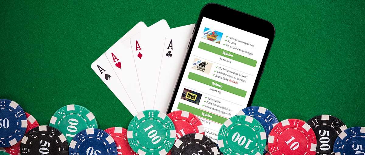Mobile Casino mit Boni