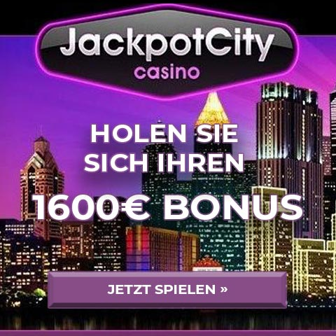 Jackpot City Angebot