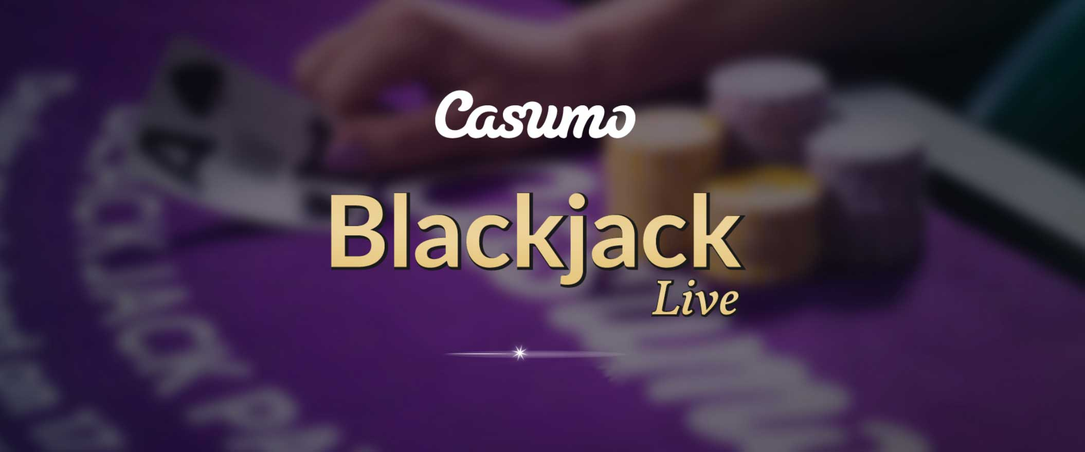 Blackjack live Casino Casumo