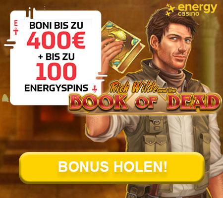 Online Casino Bonus Energy Casino