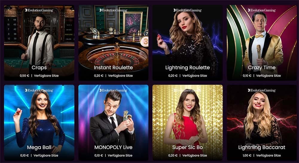 Boom Casino live